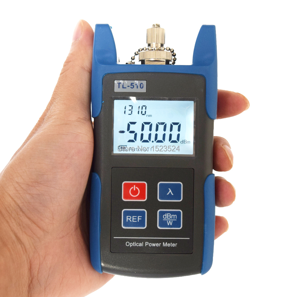CATV  -50~+26dBm TL510C Optical Power Meter With FC SC Connector