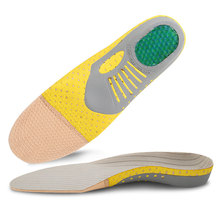 2pcs PVC Sponge Sports Insole Soft Healthcare Orthotic Comfortable Remove The Foot Arch Support