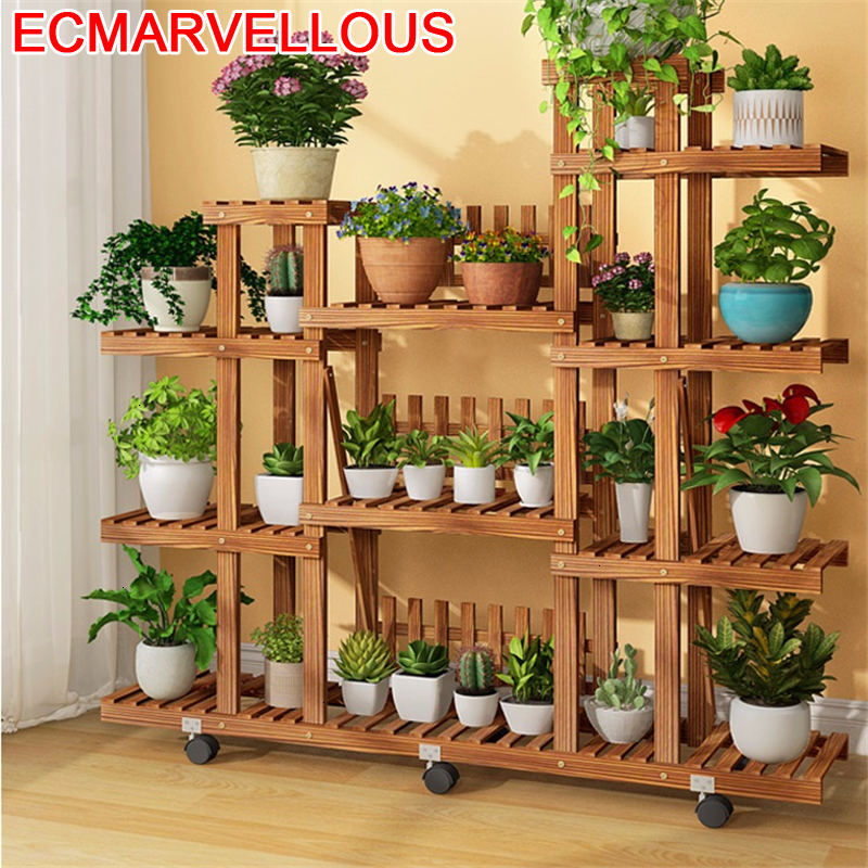 Shelves For Estanteria Macetas Mueble Para Plantas Pot Stojaki Stojak Na Kwiaty Rack Balcony Shelf Outdoor Flower Plant Stand