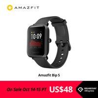 In Stock 2020 Global Amazfit Bip S Smartwatch 5ATM waterproof built in GPS GLONASS Smart Watch for Android iOS Phone 1