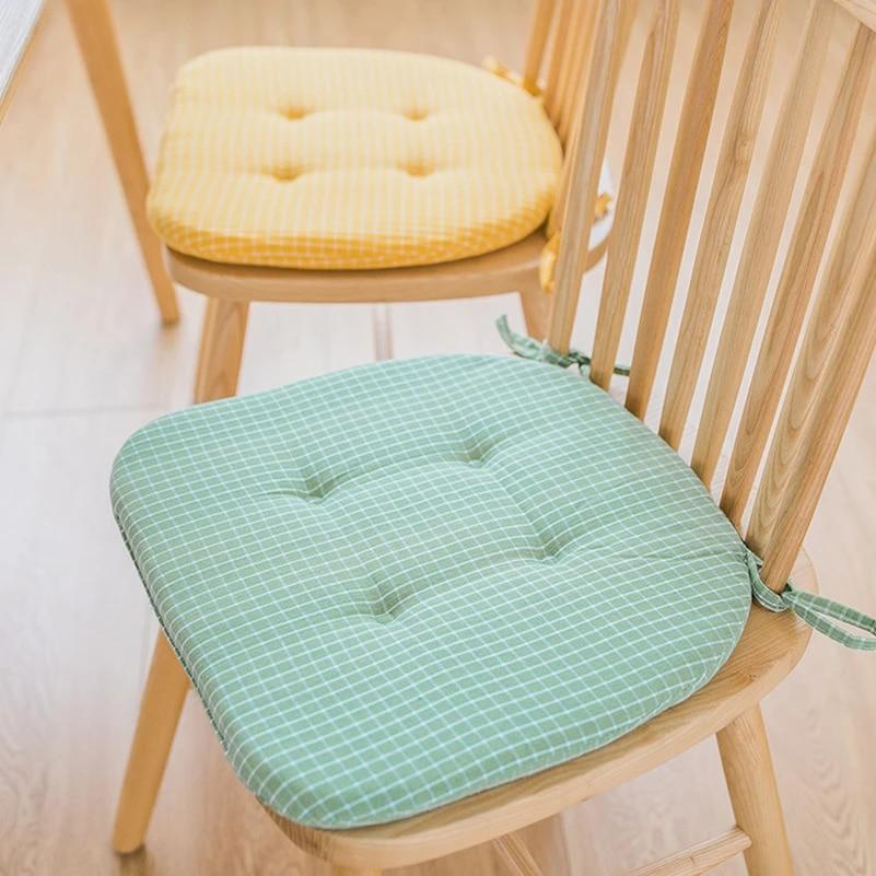 candy colour home seat cushion pad winter office bar sofa pillow buttocks chair cushion chair back seat cushions dining table