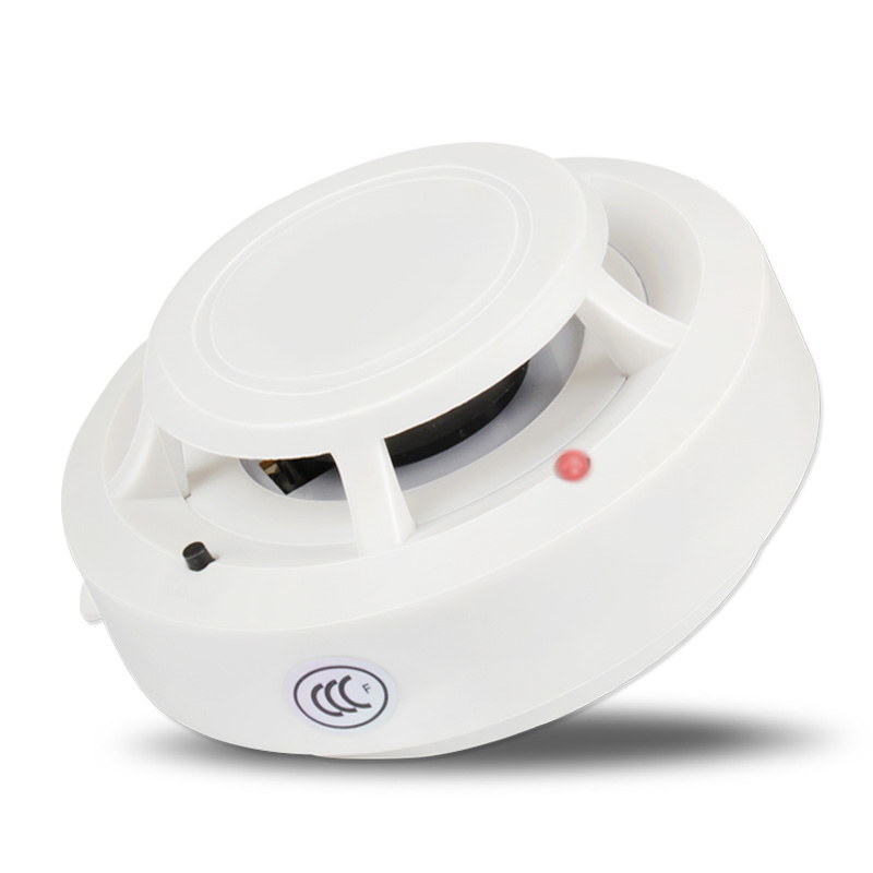 Smoke Detector Fire Alarm Detector Independent Smoke Alarm Sensor For Home Office Smoke Alarm