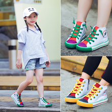 Baby Sneakers Fashion Canvas Toddler Shoes Children Girls for Girl Kids For