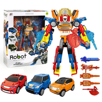 3 In 1 Transformation Tobot Robot Action Figure Toy Car Toys For Children Cartoon Animation Model Set Juguetes animation model sonicomi adult pretty girl model anime girl model beauty model tableware animation hand model toys