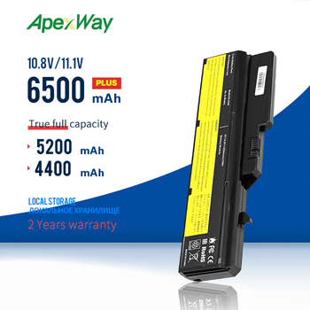 ApexWay 11.1v Laptop Battery For Lenovo L09M6Y02 L10M6F21 L09L6Y02 L09S6Y02 G570 G575 G770 Z460 G460 G465 G470 G475 G560 G565 100% new lenovo g570 g575 bottom case cover