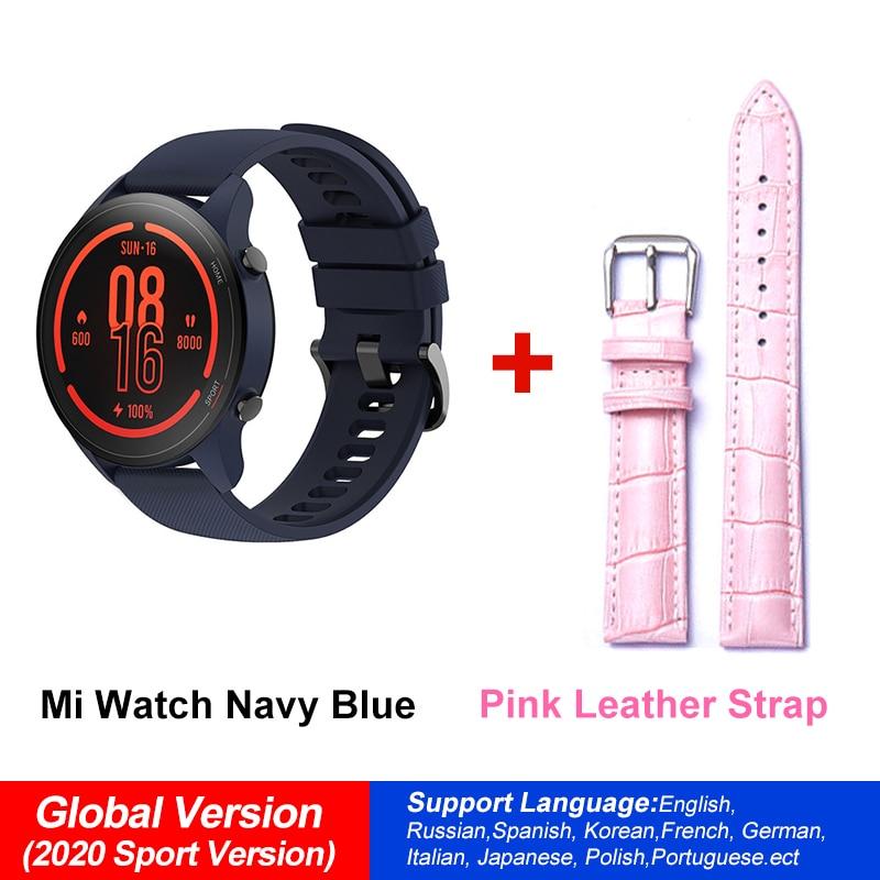 NavBlue N Pink Strap
