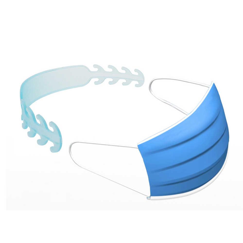 10 قطعة الأذن هوك حزام حامل تمديد مكافحة تشديد واقي أذن حامل الأذن حزام اكسسوارات الأذن قبضة تمديد قناع مشبك