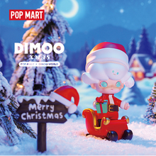 POPMART Limited edition Dimoo Christmas 2019 Blind Box Doll Binary Action Figure Birthday Gift Kid Toy free shipping