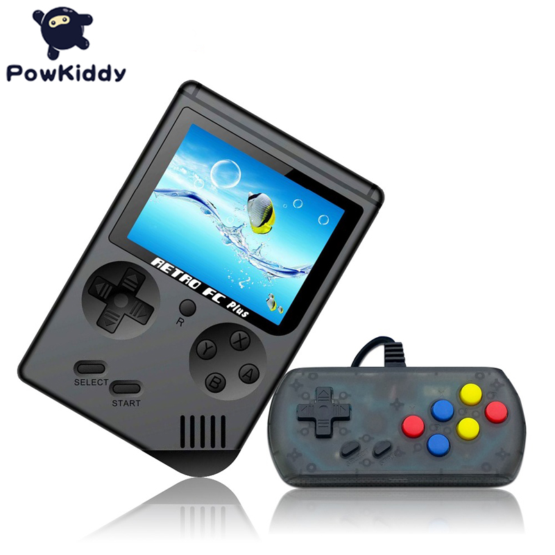 powkiddy Q3A Video Game Retro Console 8 Bit Retro Mini Pocket Handheld Game Player Built-in 168 Classic Games Children's Gift image