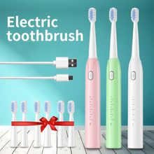 Electric-Toothbrush Sonic Whitening Rechargeable Adult USB Relax Powerful