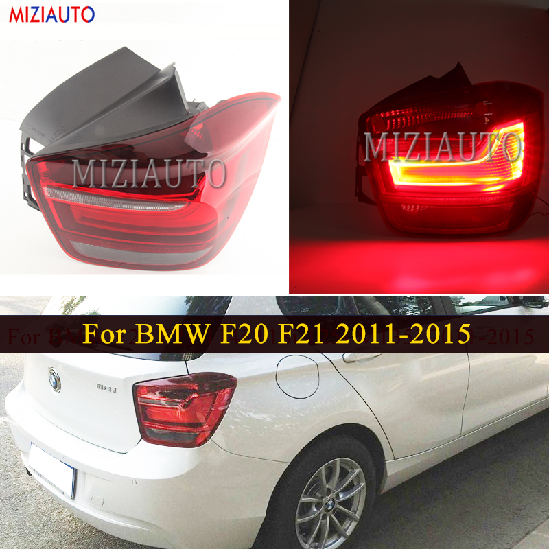 Rear Tail Light For BMW F20 F21 114i 118i 125i M135i 2011-2015 Taillight Tail Stop Fog Lamp Rear Bumper Reflector Brake Light image