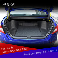 Car trunk back hinged protection decoration frame molding cover trim For Honda Accord 10th 2018 2019