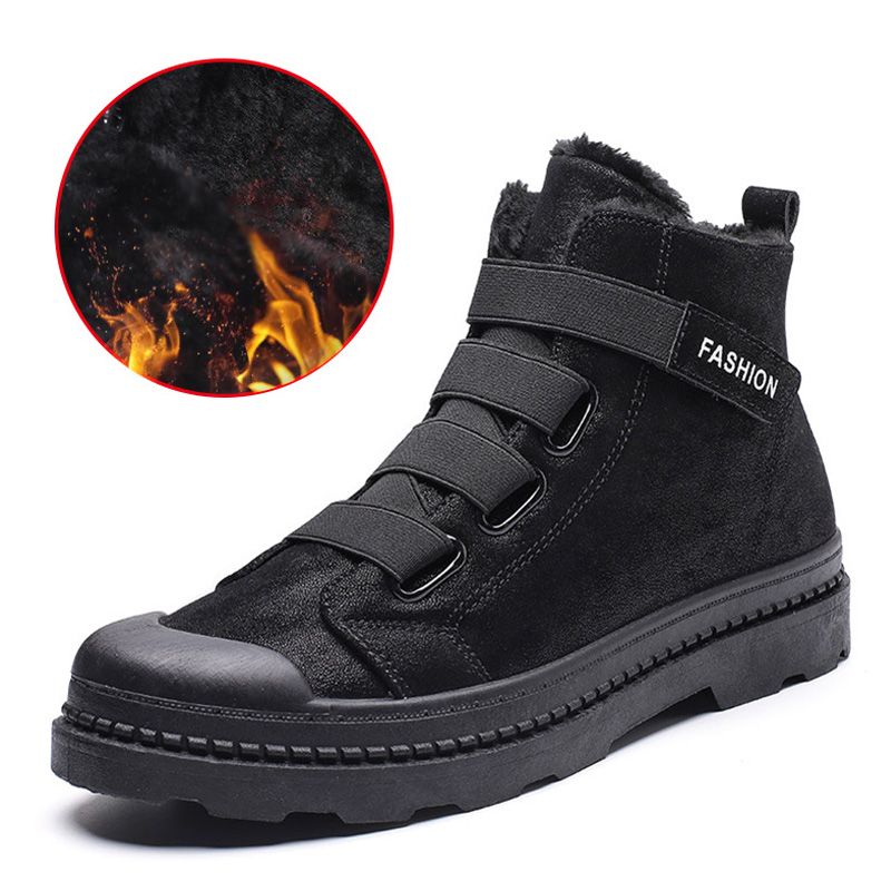Male Shoes Adult  Ankle Boots For Military Boots Plush Warm  Men Boots Winter Shoes Men Sneakers Winter Boots Men 39 S Men Shoes