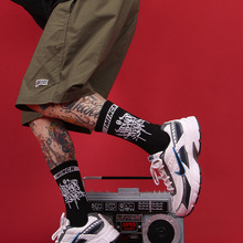 IMINCN 1Pair sport casual warm brand new hiphop Harajuku Cute Patter Ankle Socks