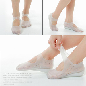 1 Pair Invisible Height Lift Heel Pad Sock Liners Increase Insole Silicone for Women Men XIN-Shipping