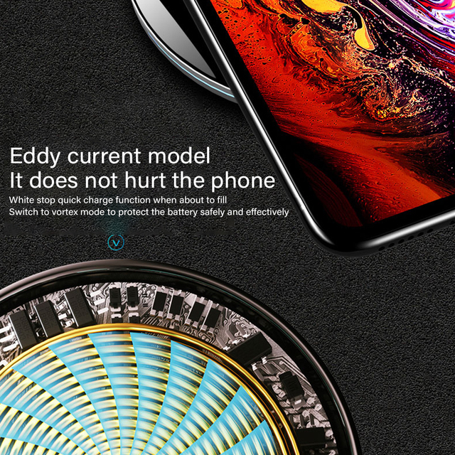 20W Fast Wireless Charger For Samsung Galaxy S10 S9 Note 10 S10+ 9 USB Qi Charging Pad for iPhone 11 Pro XS Max XR X 8 Plus