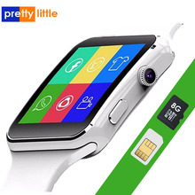 X6 Smart Watch Men Support SIM TF Card Camera Smartwatch Bluetooth Dial with Cam