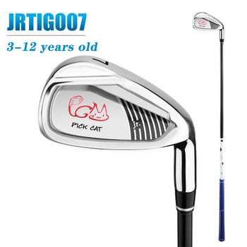 PGM Premium Golf Clubs Boys and Girls 3-12 Years Old Golf Clubs 7 Irons Beginners Advanced Golf Right Hand Non-toy Can Be Played