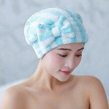 YEZI Microfiber Bath Hair Dry Cap Super Absorbent Quick Dryi