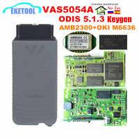VAS5054A ODIS V5.1.3 libre Keygen Original AMB2300 Bluetooth OKI Chip completo VAS 5054A con zumbador UDS VAS5054 VAS6154 ODIS 5.1.5