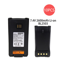 10X Replacement Battery for HYT BL2006 BL2008 DMR PD-702 DMR PD-782 PD-502 PD-506 PD-606 PD700 PD-700 PD700S PD702G-U1
