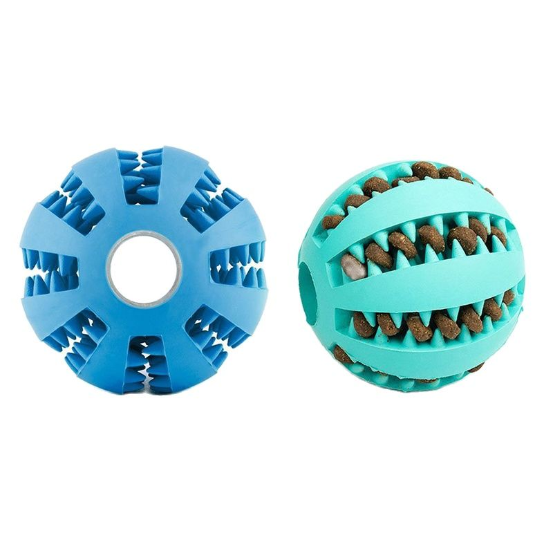 Toys for Dogs Rubber Dog Ball For Puppy Funny Dog Toys For Pet Puppies Large Dogs Tooth Cleaning Snack Ball Toy For Pet Products 1
