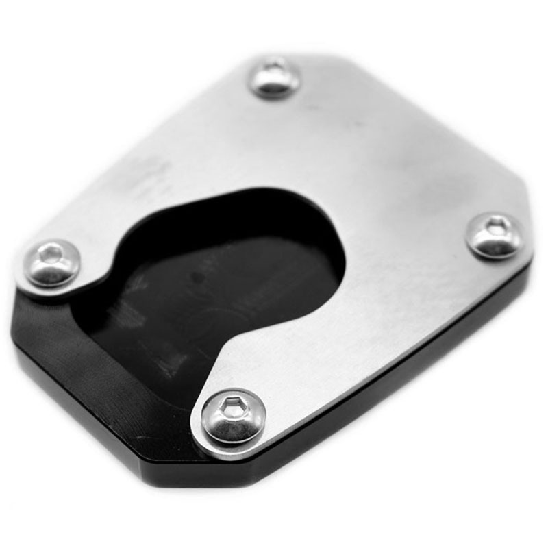 Newsmarts CNC Motorcycle Side Stand Support Plate Kickstand Extension Pad Compatible with Honda VFR1200X 2012-2017