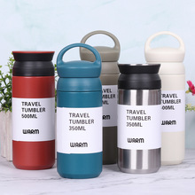 350/500ML Double Stainless Steel Vacuum Flasks Travel Insulation Coffee Mugs Thermol Bottle Car Thermos Water Bottle Thermocup