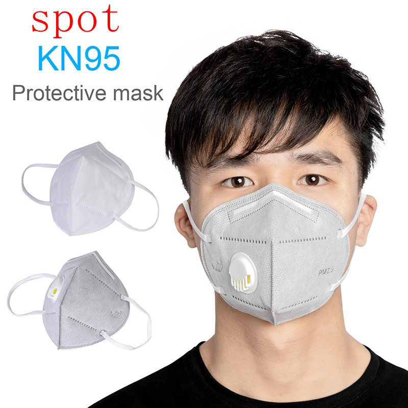 Spot 5/10pcs Electrostatic Filter Cotton Mouth Mask N95+ PM2.5 Industrial Dustproof Anti Virus Bacteria Mask Protection Outdoor