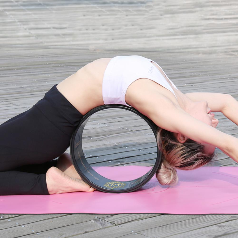 forte confortável dharma yoga prop roda