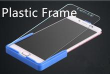 Bonaier Blue Platic frame Holder for redmi note 7 note 5 redmi 5 plus mi6 Mi8 mi note 3 Honor 10 redmi 7 Note 4X help glue glass cheap KUPISHIK Mobile Phone