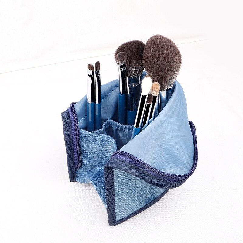 Набор кистей для макияжа YAVAY 32 шт., набор кистей для макияжа из мягкой козьей шерсти Taklon, набор кистей для профессионального макияжа - 5