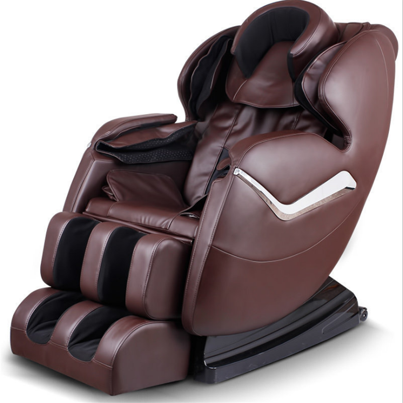 brown shiatsu massage chair zero gravity