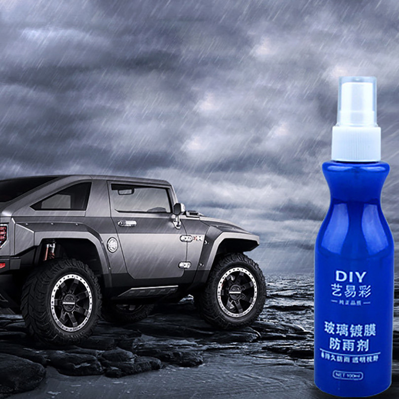 100ML Glass Nano-coating Hydrophobic Coating Shoes Waterproofing Agent Spraying Window Rearview Mirror Glass Cleaner Clearer