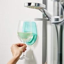 Ватт пластиковый держатель бокала вина для ванны душ красное вино бокал держатель бар