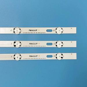 Image 4 - (Nuevo Kit )3 uds. Tira de LED para iluminación trasera 8LED de 850mm para LG 43UH6030 43UF640 HC430DGN SLNX1 UF64_UHD_A 43LH60FHD EAV63192501