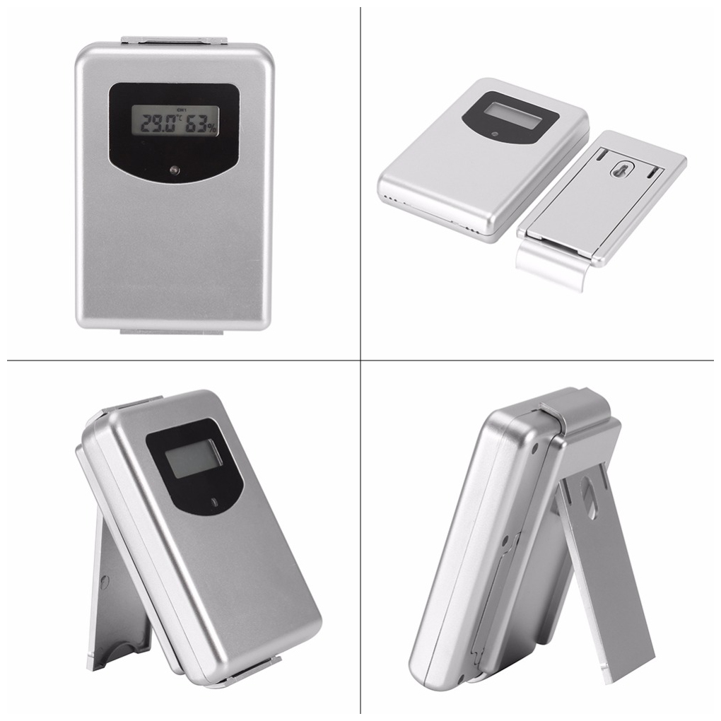 Hot Forecast Temperature with 433MHz Wireless Weather Station Digital Thermometer Hygrometer Humidity Sensor