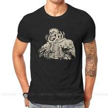 Berserk tripes Griffith Behelit Manga t-shirt pour hommes crâne chevalier Humor été sweats T Shirt nouveauté à la mode moelleux