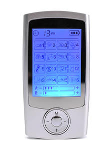 Body-Massage Tens-Unit Health-Care Muscle Stimulator Electric-Ems Pulse 16-Modes Dual-Output
