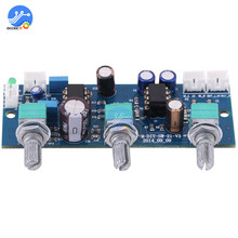 NE5532 Stereo Pre amp Pre Amplifier Board Audio 2 Channels Amplifier Module Control for phone Preamp HIFI Modulo Amplificador