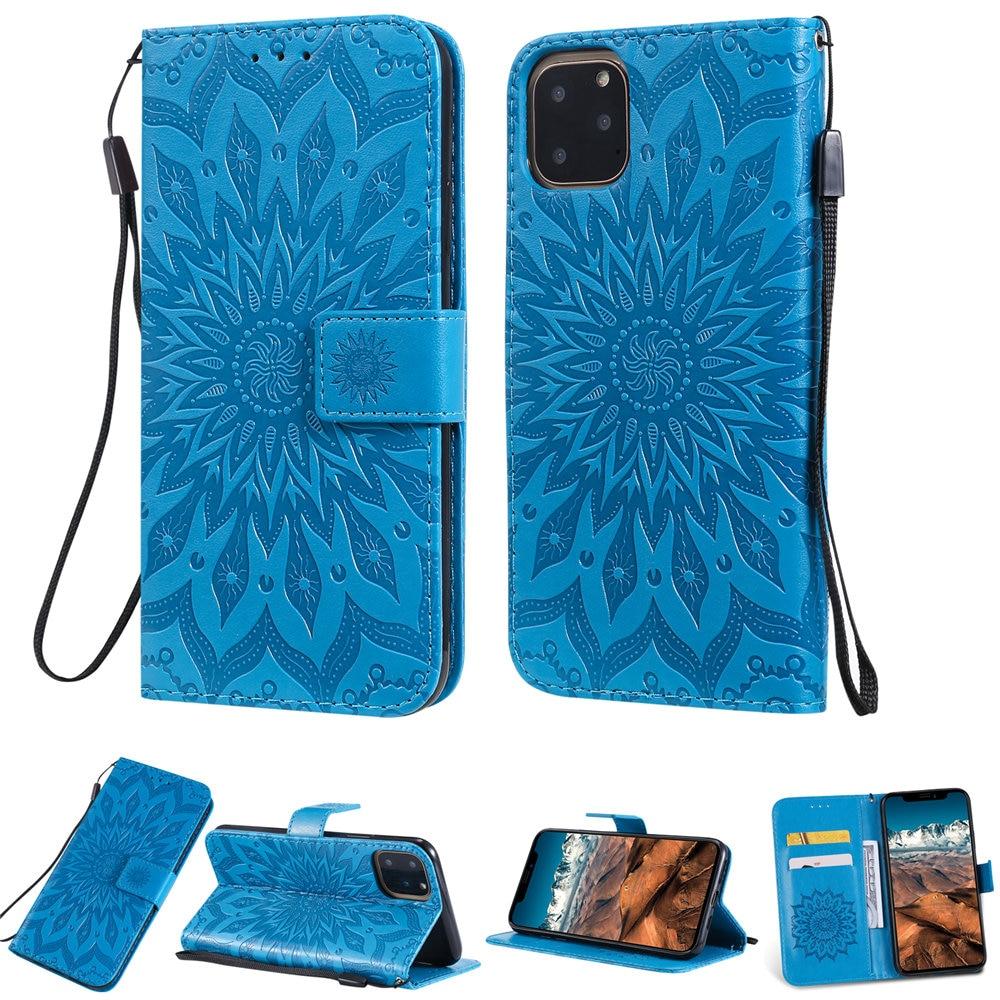 Luxury Flower Wallet Flip Case for iPhone 11/11 Pro/11 Pro Max 7