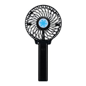 Portable Mini Hand Fan USB Rechargeable Foldable Handheld Fan Cooler 3 Speed Adjustable Cooling Fan for Outdoor Travel