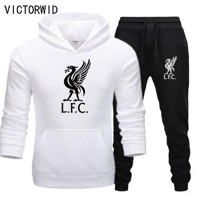 VICTORWID, Leisure Sportswear With Hood (2020 Suit), New Liverpool Football Sportswear + Men's Sportswear With Hood