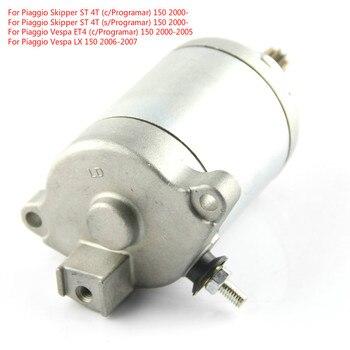 Motor de la motocicleta Motor de arranque eléctrico para Piaggio capitán ST 4T Vespa ET4 LX S X 8 de la calle 150, es decir, FL
