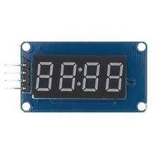 Neue 100 stücke 4 Bits TM1637 Red Digital Rohr LED Display Modul & Uhr LED