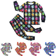 Детские пижамы домашняя одежда костюм милые Мультяшные пижамные