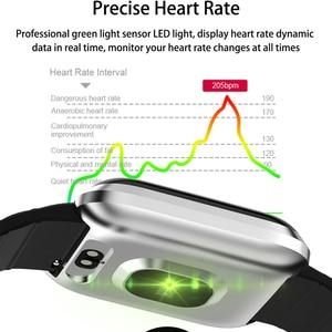 Image 4 - Reloj inteligente IP67 para Android IOS, reloj inteligente deportivo resistente al agua con control del ritmo cardíaco y del oxígeno para hombre y mujer