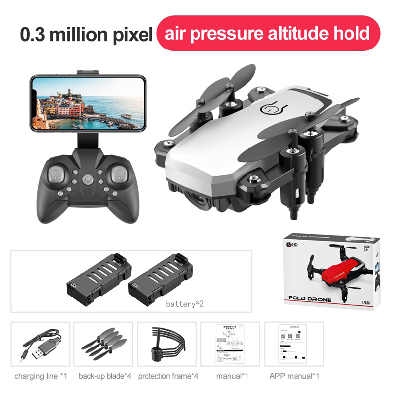 Mini Drones 4K  Quadcopter Toys Folding Dron RC Helicopter HD Drone 4K Profissional Drone Cameras HD Gps Dron Toys for Children