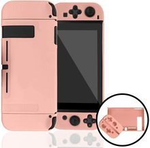 For Nintendo Switch NS Joy Con Case Cover PC Protective Outer Coque Shell Nintend Switch Console Detachable Ultra Thin Pure Colo