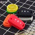 KEYYOU 3BTN силиконовый флип-ключ для автомобиля чехол для Kia RIO K2 K3 K5 Picanto Ceed Cerato Sportage SOUL для hyundai Verna i20 i30